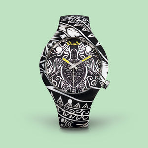 MAORI TURTLES TATTO WATCH - DOODLE TATTOO COLLECTION
