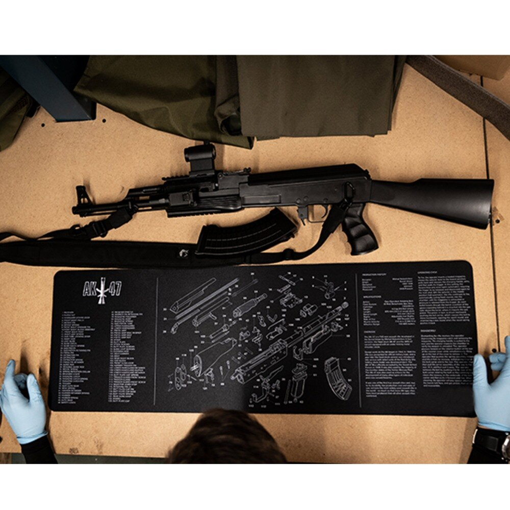 AR15/AK47 Rubber Mat (teching/cleaning/XXL mousepad) - JC Airsoft