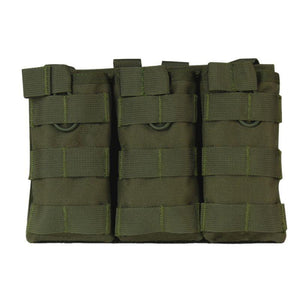 Triple Open Top 5.56 1000D Mag Pouch