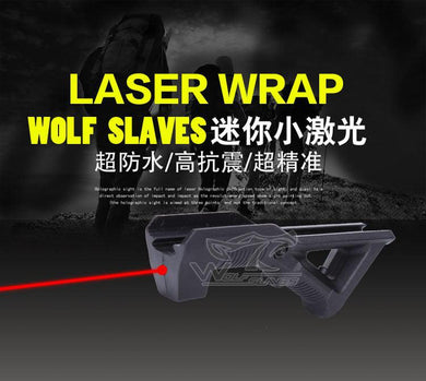 Laser Dot Angled Forward Grip - JC Airsoft