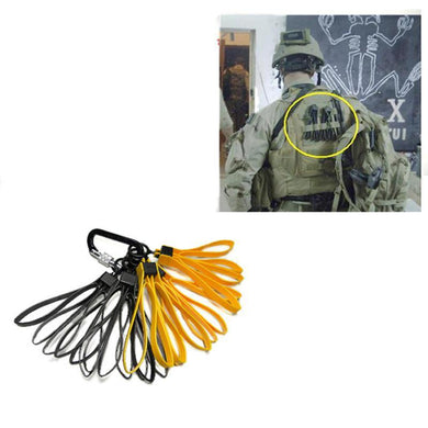 3 Set Tactical Plastic Cable Tie Strap Handcuffs