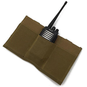 1000D Triple Open-Top Elastic M4 Mag Pouch