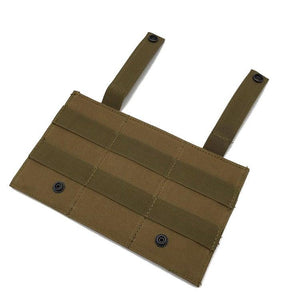 1000D Triple Open-Top Elastic M4 Mag Pouch - JC Airsoft