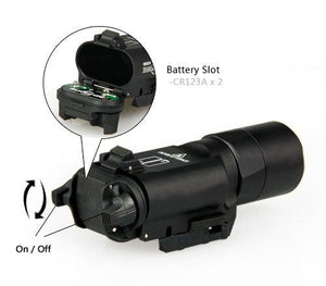 X300 Ultra LED Tactical Light - 600 Lumens - JC Airsoft