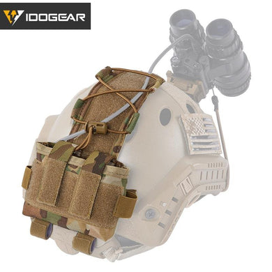 Tactical Pouch MK2 Battery Case for Helmet