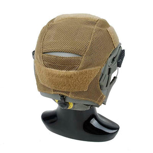 Khaki Speedy Exfil Lightweight Helmet Cover - JC Airsoft