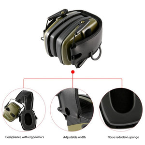 Howard Leight by Honeywell Impact Sport Sound Amplification Electronic Shooting Earmuff - JC Airsoft