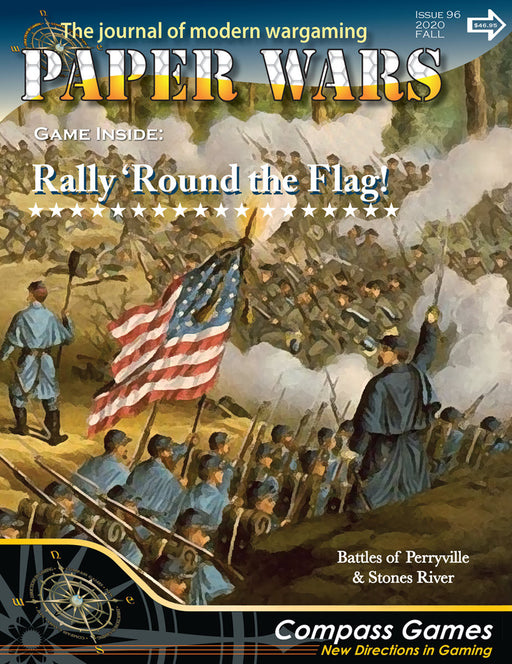 Paper Wars #96: Rally Round the Flag Magazine (Pre-order)
