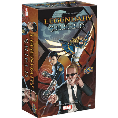 Marvel Legendary: Deck Building SHIELD Small Box Expansion Board Game