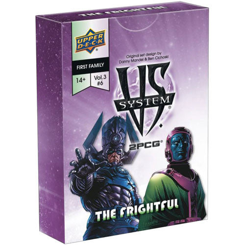 Vs. System 2PCG: First Family The Frightful Expansion (3/3) Board Game