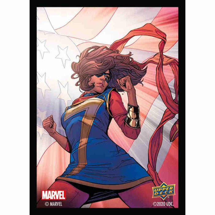Marvel Ms. Marvel - Character Sleeves 65CT