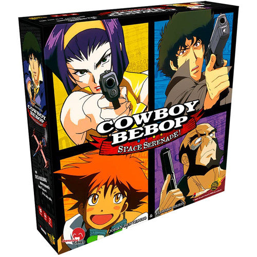 Cowboy Bebop: Space Serenade Board Game