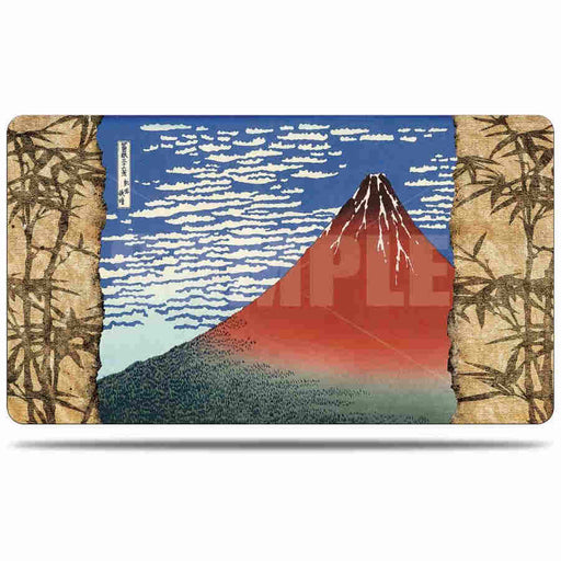 Ultra Pro Fine Art Red Fuji - Character Rubber Playmat