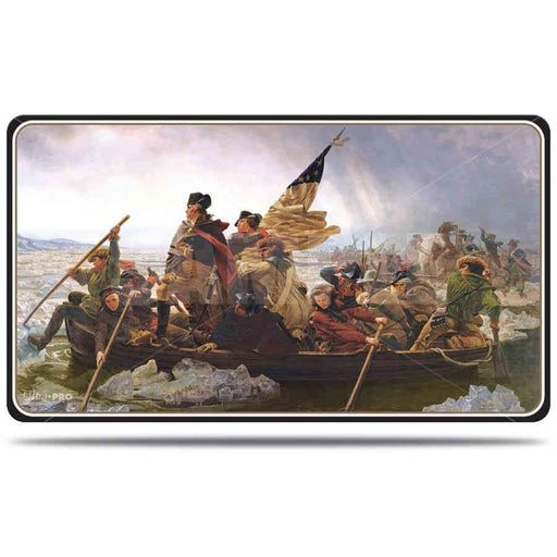 Ultra Pro Fine Art Washington Crossing the Delaware - Character Rubber Playmat