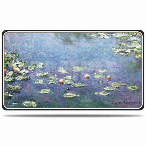 Ultra Pro Fine Art Water Lillies - Character Rubber Playmat