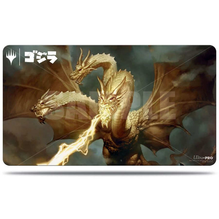 Magic The Gathering: Ikoria - Ghidorah King of the Cosmos - Ultra Pro Rubber Playmat V.2
