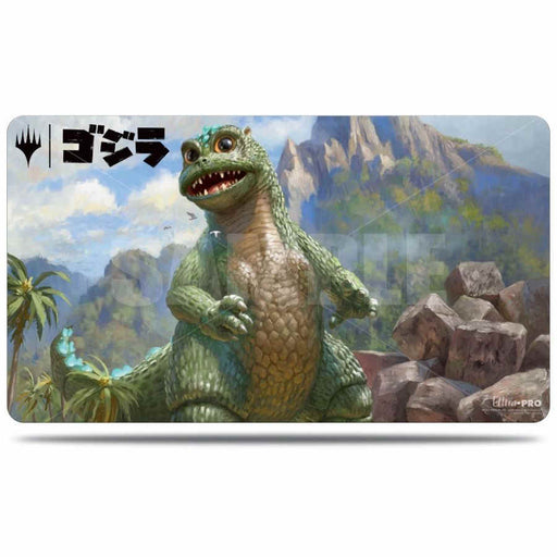 Magic The Gathering: Ikoria - Babygodzilla Ruin Reborn - Ultra Pro Rubber Playmat V.3
