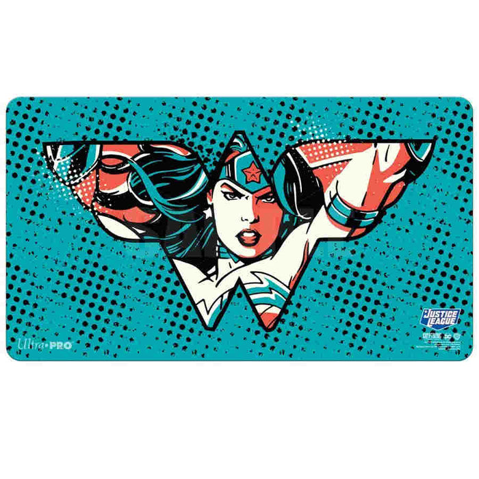 Justice League Wonder Woman - Ultra Pro Rubber Playmat