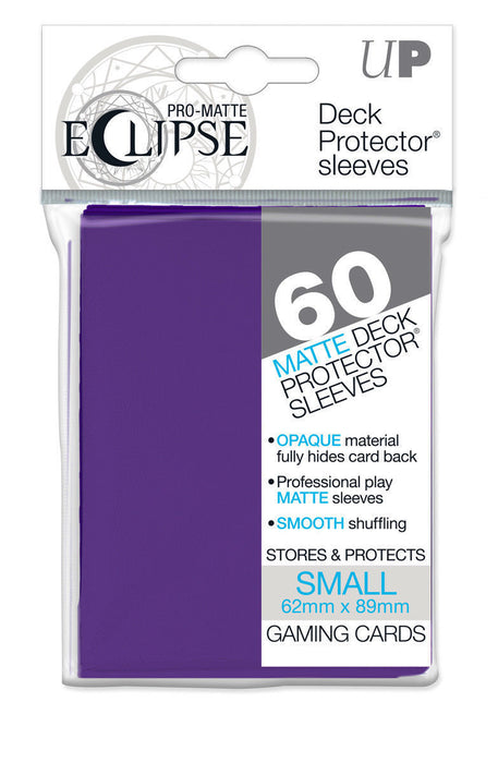 Ultra Pro: Eclipse Deck Protector Sleeves Royal Purple Mini 60ct