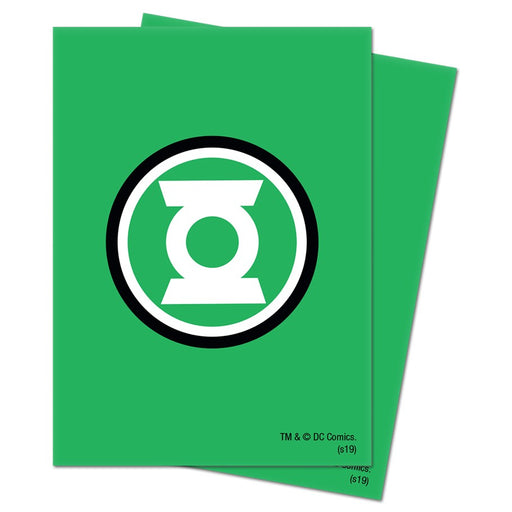 Ultra Pro: Justice League: Green Lantern Deck Protector Sleeves (65 CT)