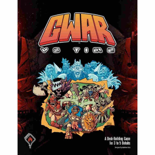 Gwar VS Time Board Game (Pre-order)