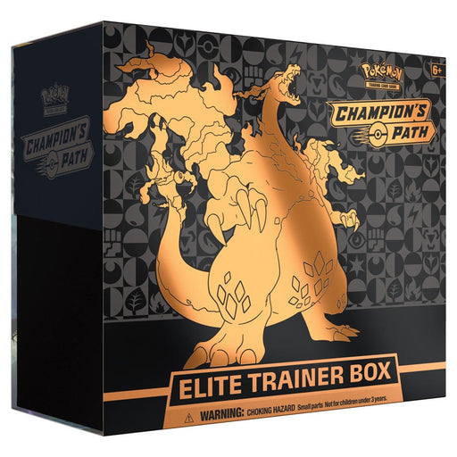 Pokemon Trading Card TCG: Champion's Path Elite Trainer Box
