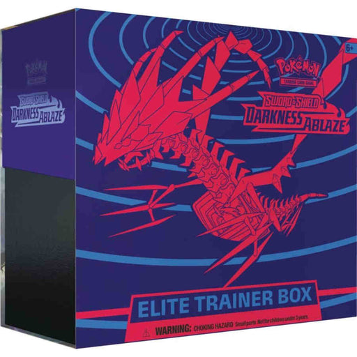 Pokemon TCG: Sword and Shield Darkness Ablaze Elite Trainer