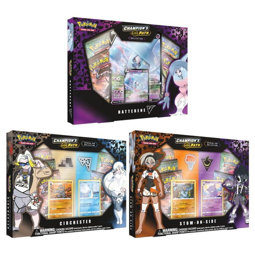 Pokemon TCG: Champion's Path Special Gym Collection Box (Pre-Order)