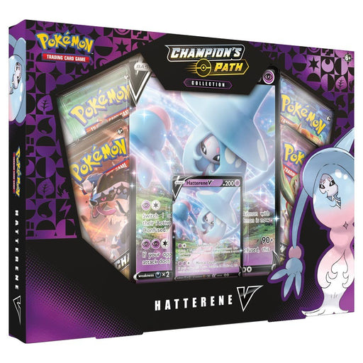 Pokemon TCG: Champion's Path Collection Box: Hatterene V