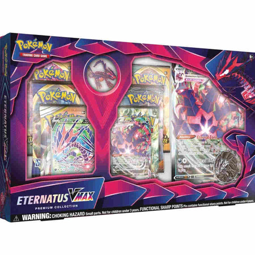 Pokemon TCG Eternatus VMAX Premium Collection