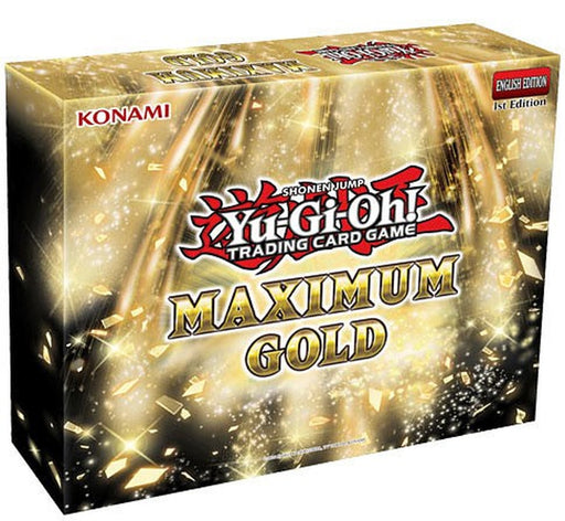 Yu-Gi-Oh! TCG - Maximum Gold Box (Pre-order)