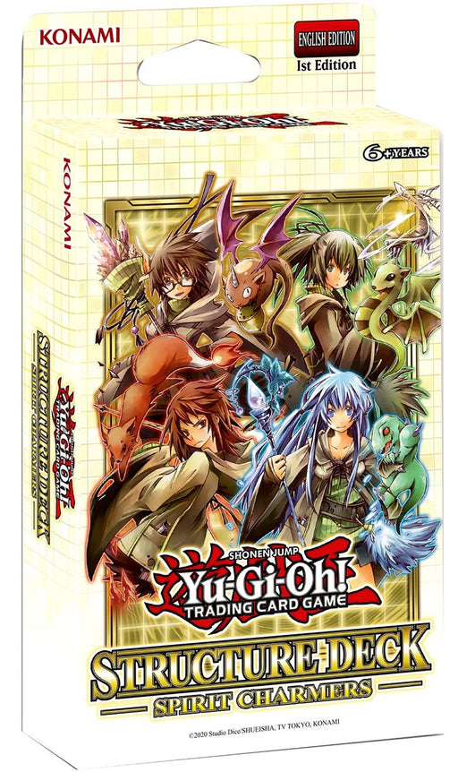 Yu-Gi-Oh! Structure Deck - Spirit Charmers