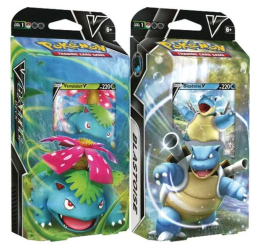 Pokemon V Battle Deck - Venusaur / Blastoise - Bundle of 2