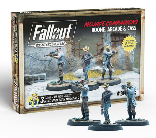 Fallout: Wasteland Warfare - Boone Arcade and Cass Miniatures (Pre-order) Sep 2021