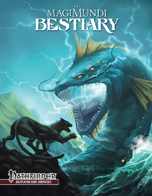 Pathfinder 2nd Edition: Magimundi Bestiary Hardcover (Pre-order) May 2021