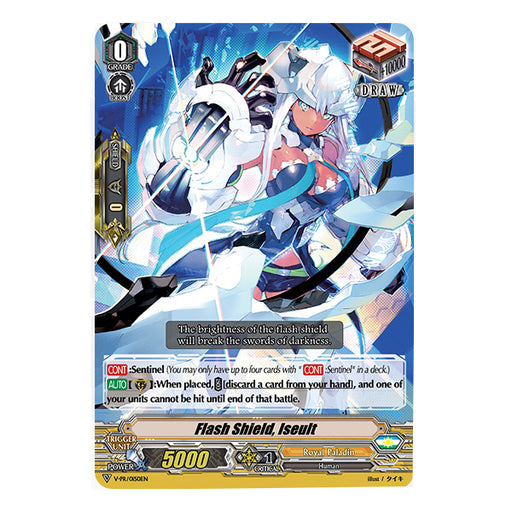 Vanguard - Flash Shield Iseult - VTD Box Topper Play Set