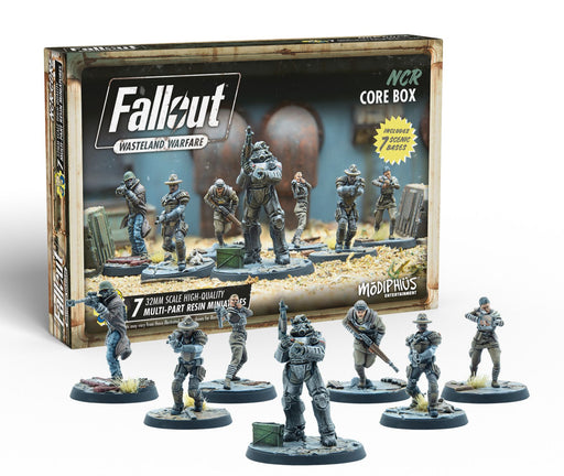 Fallout: Wasteland Warfare - NCR Core Box Miniatures (Pre-order) May 2021