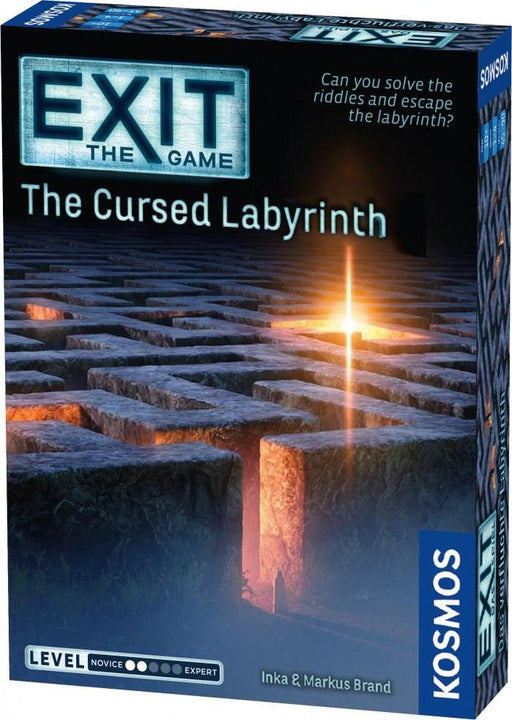 Exit: The Cursed Labyrinth Board Game (Pre-order) Jun 2021