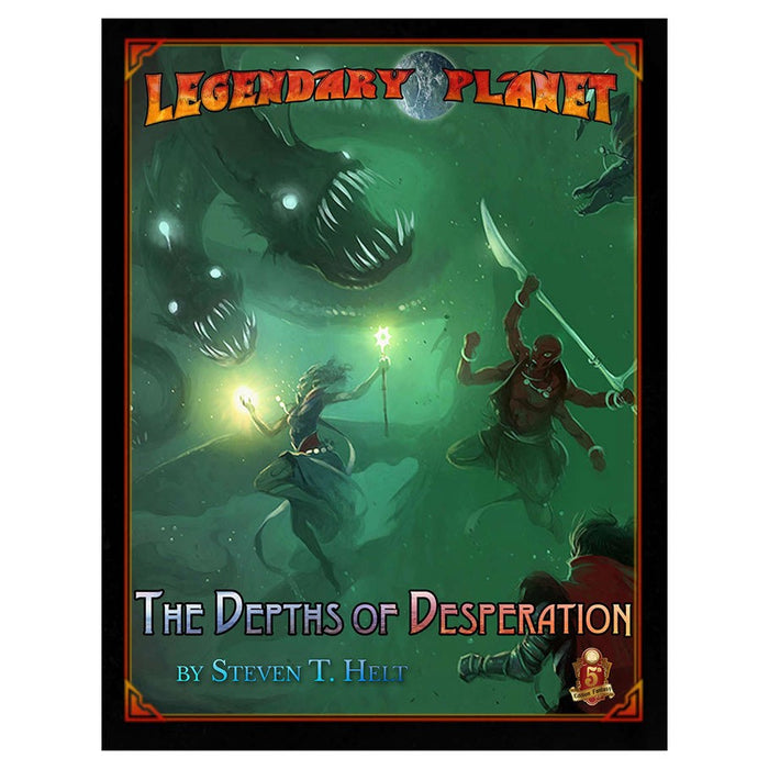 Dungeons and Dragons D&D Legendary Planet: The Depths of Desperation 5E Role Playing Game