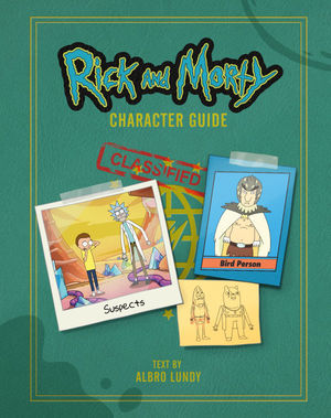 Rick and Morty Character Guide HC Art Book