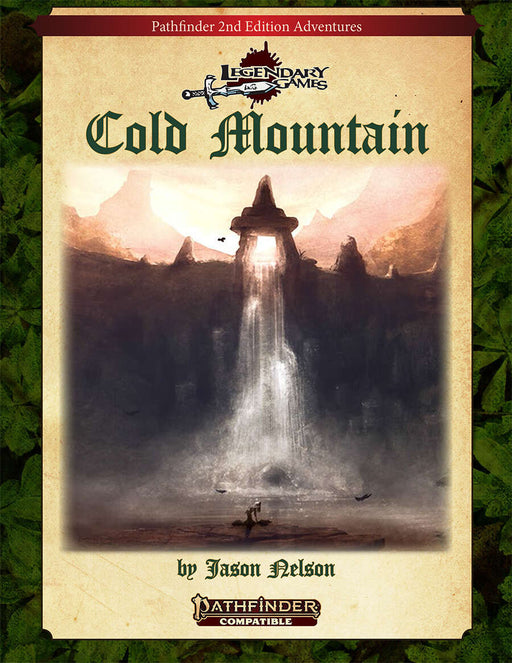 Pathfinder 2nd Edition Adventure: Cold Mountain Role Playing Game