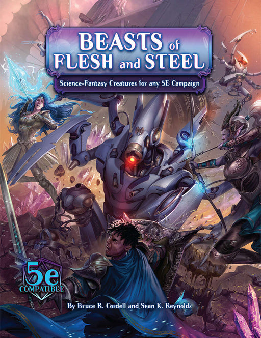Dungeons & Dragons 5th Edition: Numenera: Arcana of the Ancients: Beasts of Flesh and Steel RPG Book