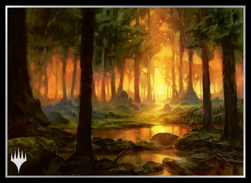 Magic The Gathering - Theros Forest - Sleeves MTGS-095 80CT