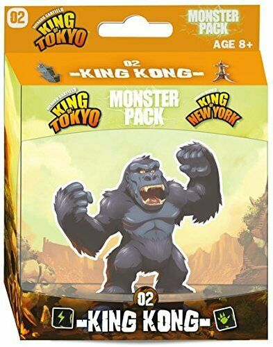 King of Tokyo: King Kong Monster Pack Board Game