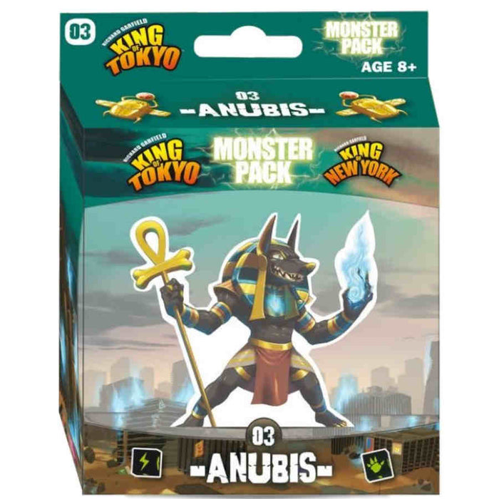 King Of Tokyo: Anubis Monster Pack Board Game