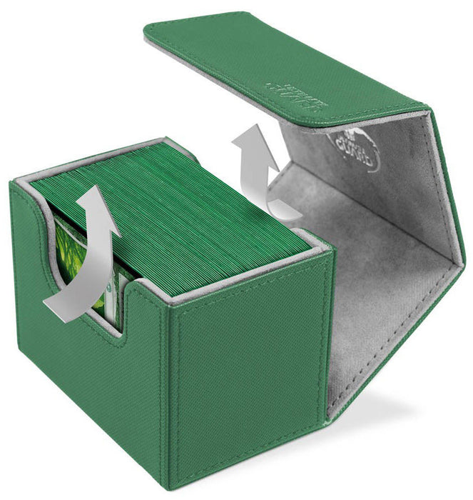 Ultimate Guard Sidewinder Deck Box 100+ Green