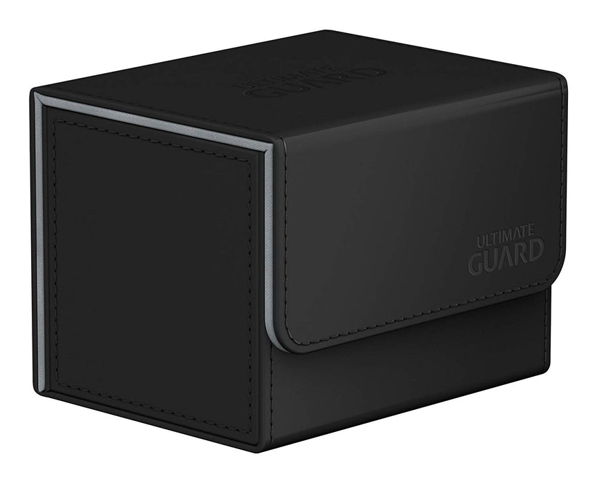 Ultimate Guard Sidewinder ChromiaSkin Deck Box +100 Black (Heat Sensitive Color Changing)