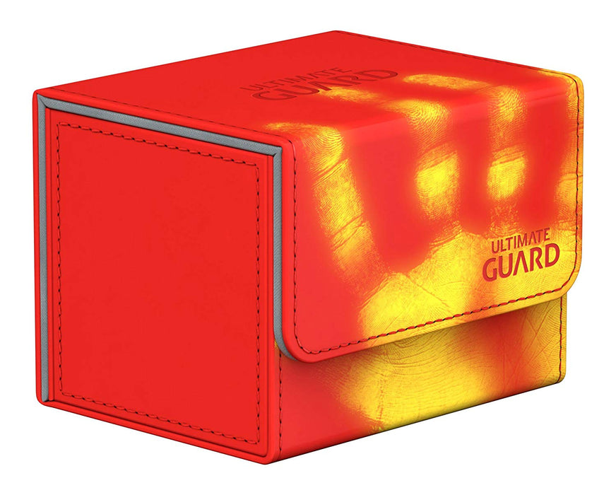 Ultimate Guard Sidewinder ChromiaSkin Deck Box +100 Red (Heat Sensitive Color Changing)