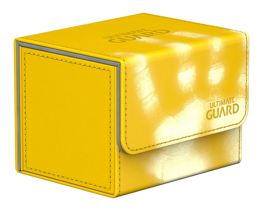 Ultimate Guard Sidewinder ChromiaSkin Deck Box +100 Yellow (Heat Sensitive Color Changing)