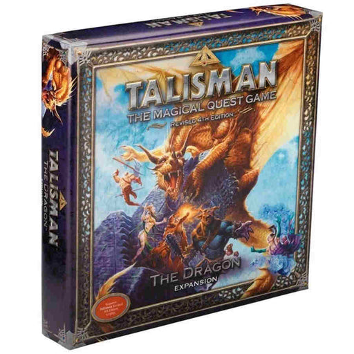 Talisman: Revised 4th Edition The Dragon Expansion Board Game